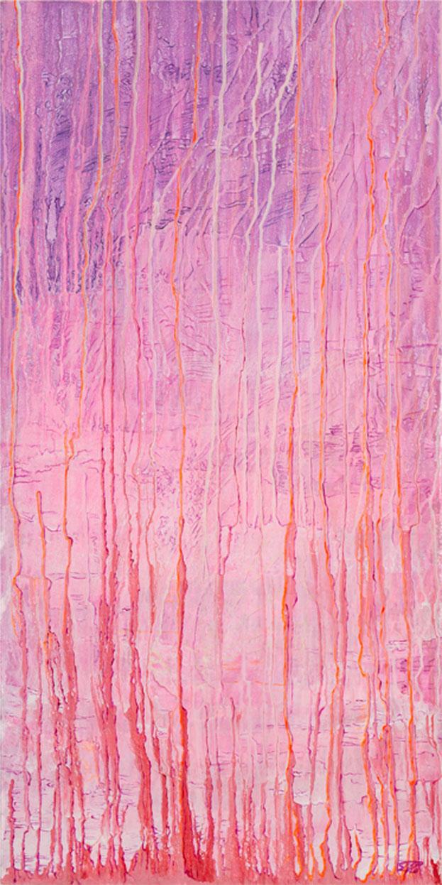 De roze gloed